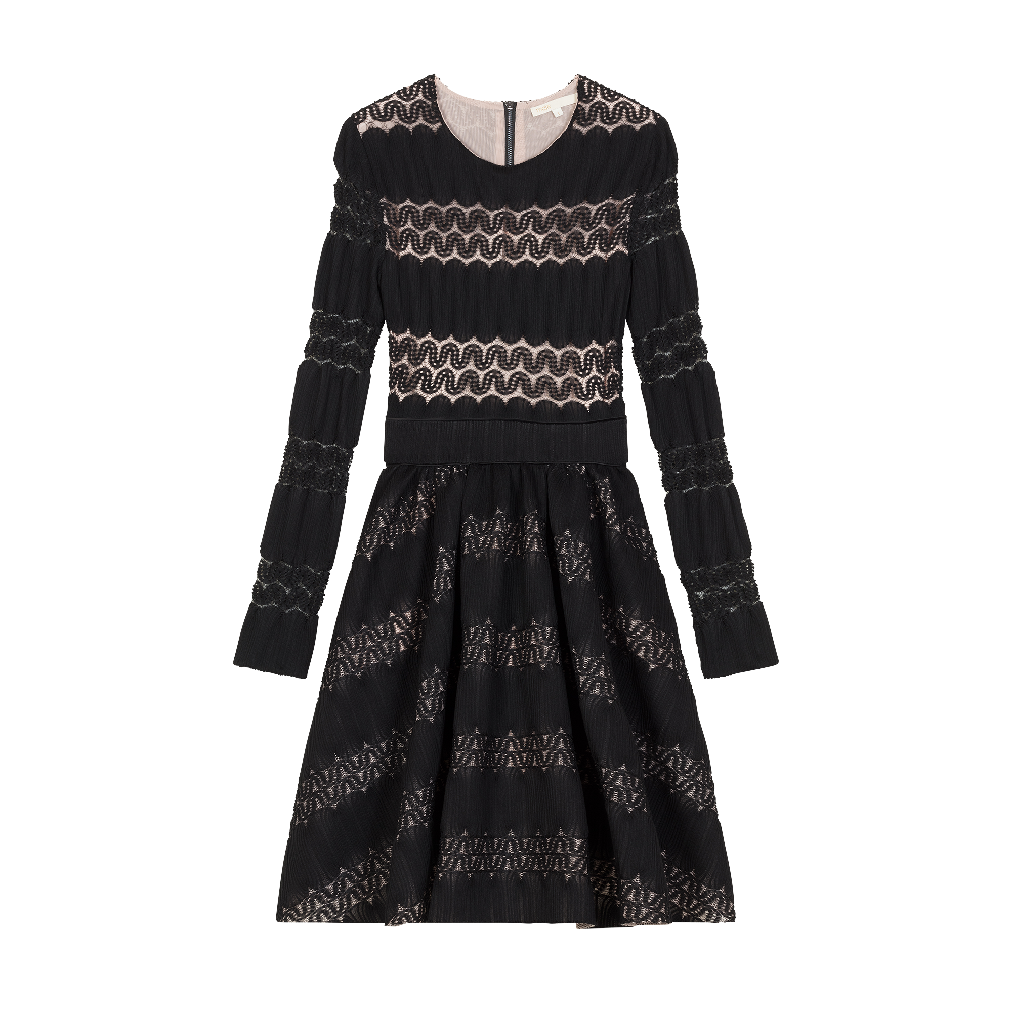 Basket knitted dress - New in - MAJE